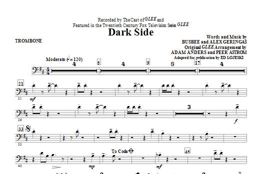 Dark Side - Trombone (Choir Instrumental Pak)