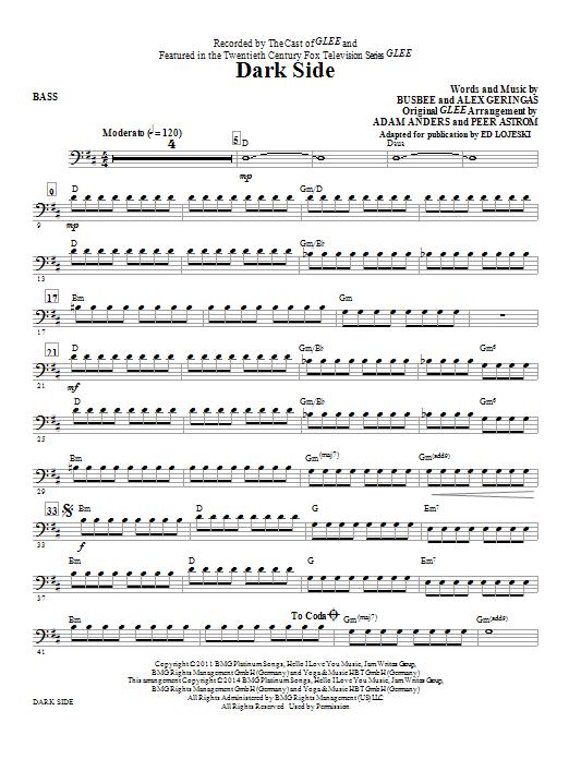 Dark Side - Bass (Choir Instrumental Pak)