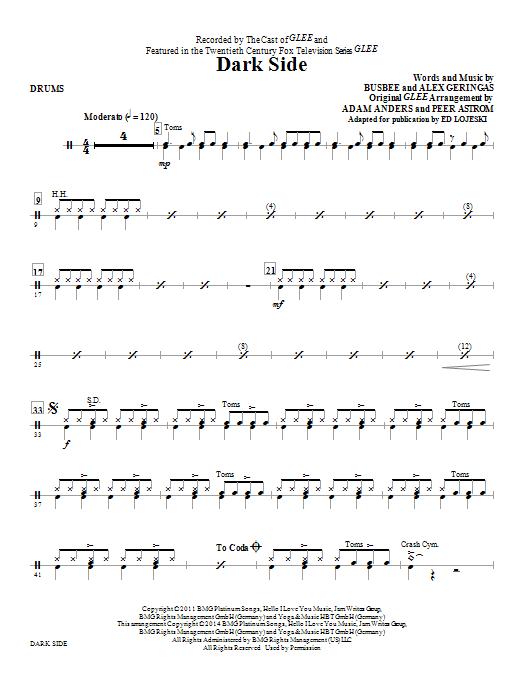 Dark Side - Drums (Choir Instrumental Pak)