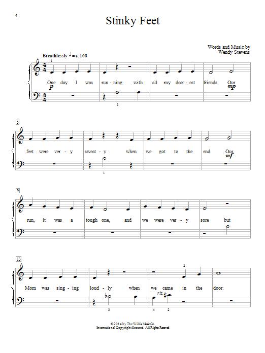 Stinky Feet (Educational Piano)
