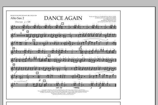 Sheet Music Digital Files To Print - Licensed Jennifer Lopez Digital