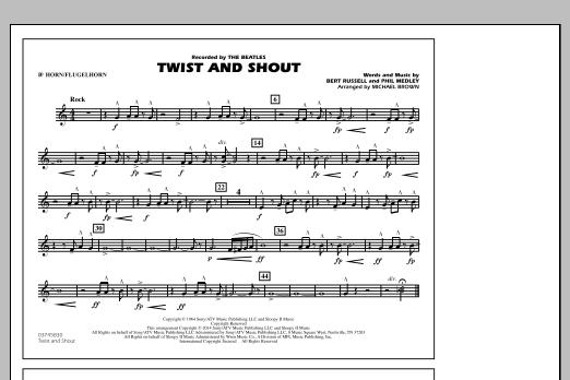 Twist and Shout - Bb Horn/Flugelhorn (Marching Band)