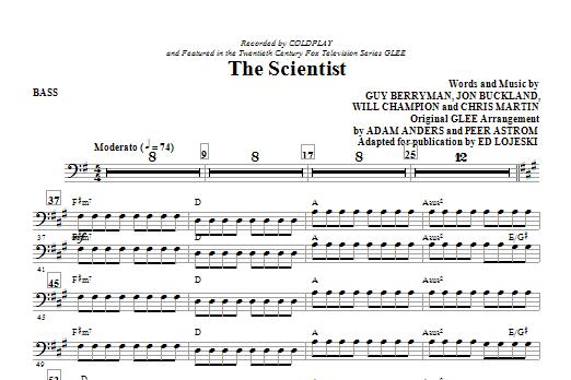 The Scientist - Bass (Choir Instrumental Pak)