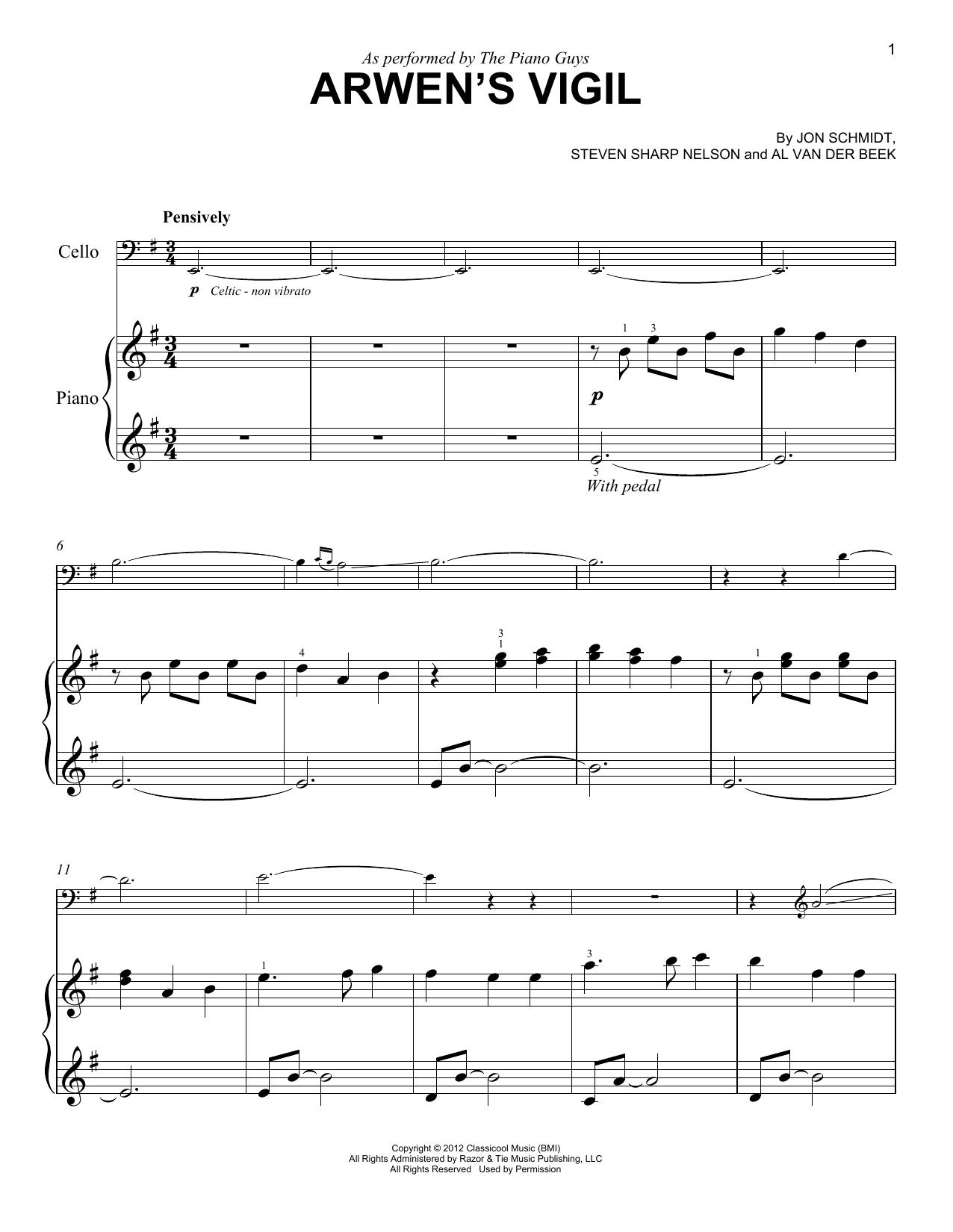 Arwen's Vigil Sheet Music