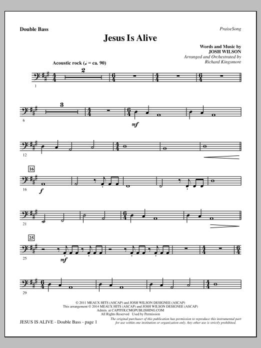 Jesus Is Alive - Double Bass (Choir Instrumental Pak)
