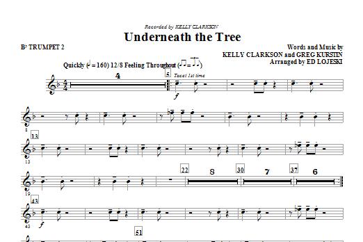 Underneath the Tree - Bb Trumpet 2 (Choir Instrumental Pak)