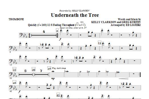 Underneath the Tree - Trombone (Choir Instrumental Pak)