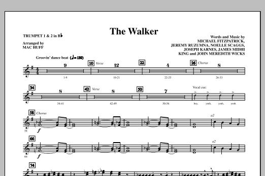 The Walker - Bb Trumpet 1,2 Sheet Music