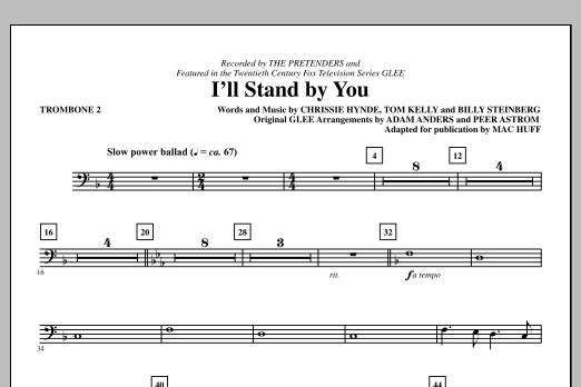 I'll Stand By You - Trombone 2 (Choir Instrumental Pak)