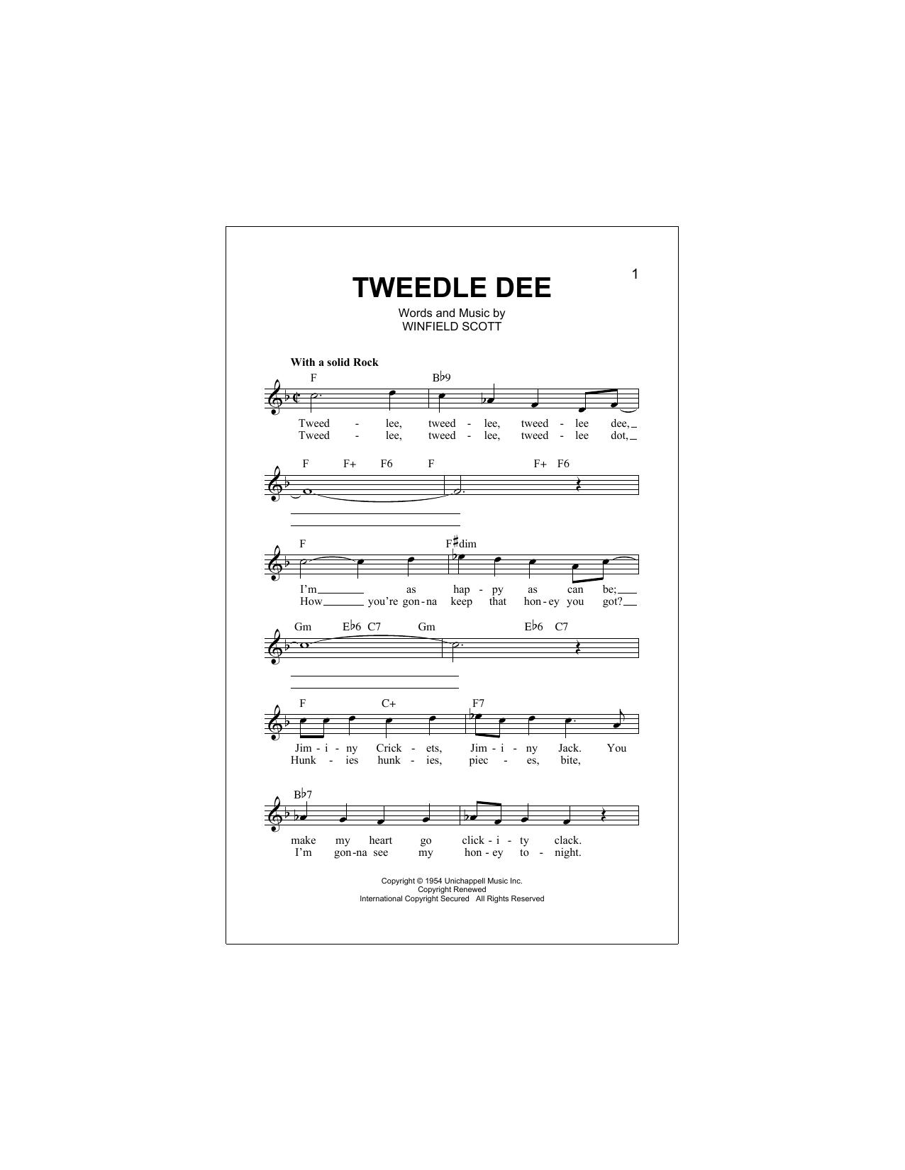 Tweedle Dee Partition Digitale