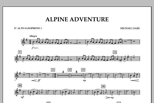Alpine Adventure - Eb Alto Saxophone 1 (Concert Band)