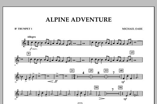 Alpine Adventure - Bb Trumpet 1 (Concert Band)
