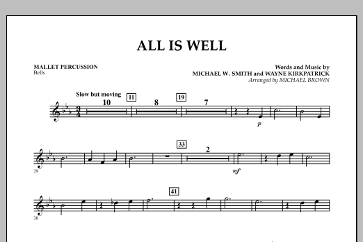 All Is Well - Mallet Percussion (Concert Band)