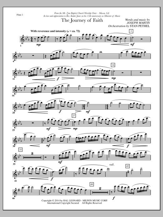 The Journey of Faith - Flute 1 (Choir Instrumental Pak)