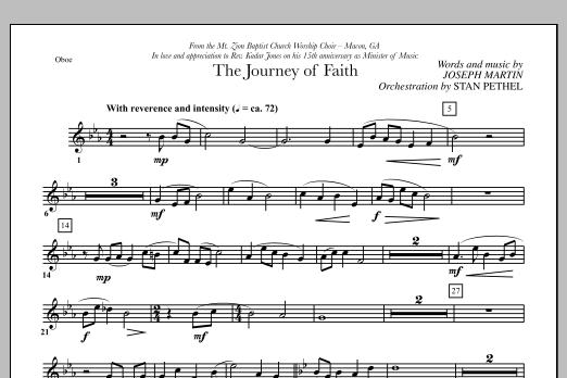 The Journey of Faith - Oboe (Choir Instrumental Pak)