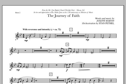 The Journey of Faith - F Horn 2 (Choir Instrumental Pak)