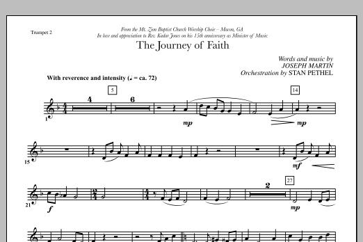The Journey of Faith - Bb Trumpet 2 (Choir Instrumental Pak)