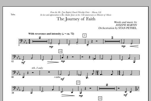 The Journey of Faith - Tuba (Choir Instrumental Pak)