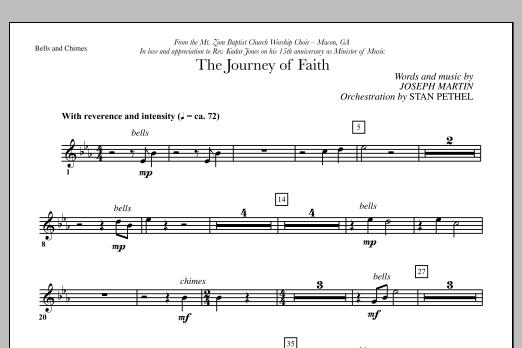 The Journey of Faith - Bells/Chimes (Choir Instrumental Pak)