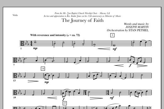 The Journey of Faith - Viola (Choir Instrumental Pak)