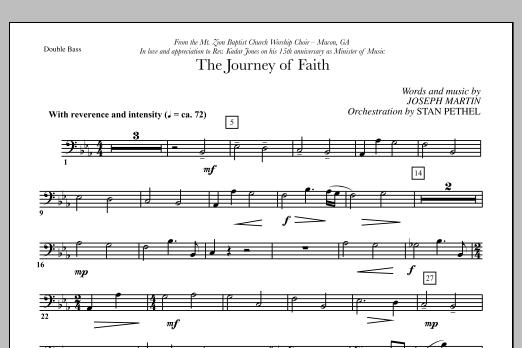 The Journey of Faith - Double Bass (Choir Instrumental Pak)