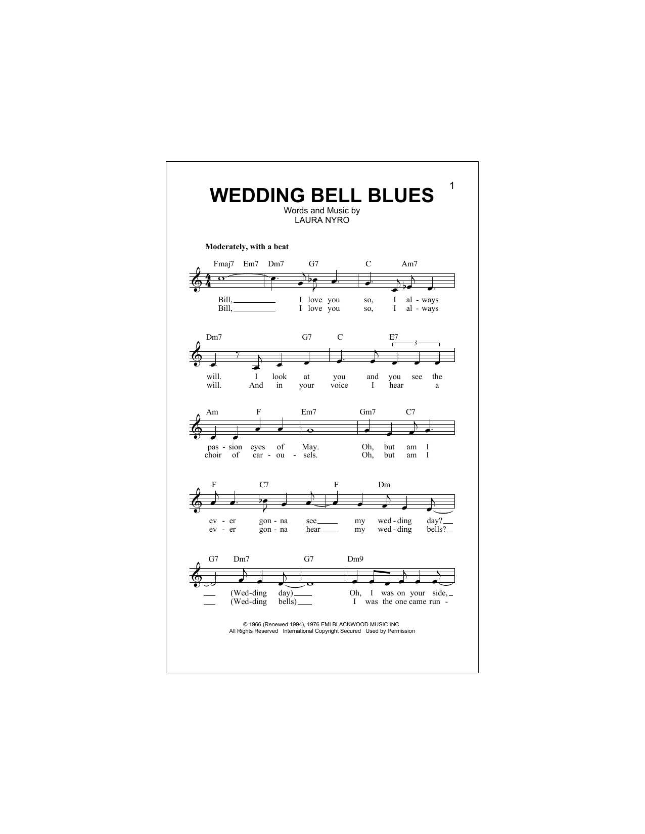 Morrissey – Wedding Bell Blues Lyrics | Genius Lyrics