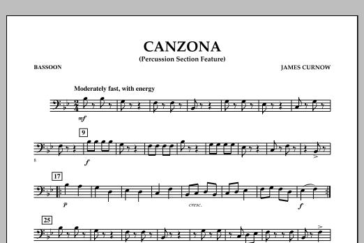 Canzona - Bassoon (Concert Band)