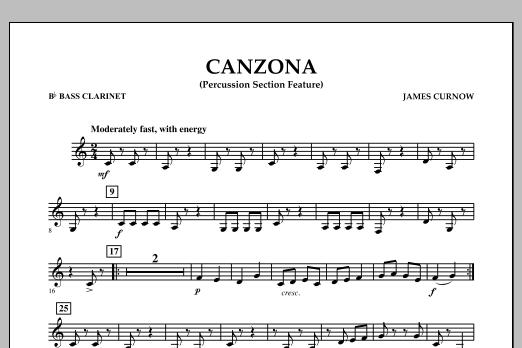 Canzona - Bb Bass Clarinet (Concert Band)