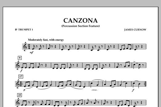 Canzona - Bb Trumpet 1 (Concert Band)