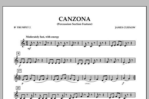 Canzona - Bb Trumpet 2 (Concert Band)