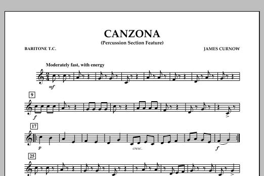 Canzona - Baritone T.C. (Concert Band)