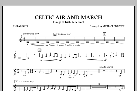 Celtic Air and March (Songs of Irish Rebellion) - Bb