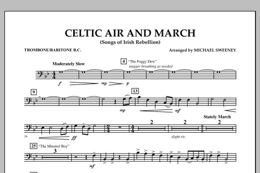 Celtic Air and March (Songs of Irish Rebellion) - Trombone/Baritone B.C. (Concert Band)