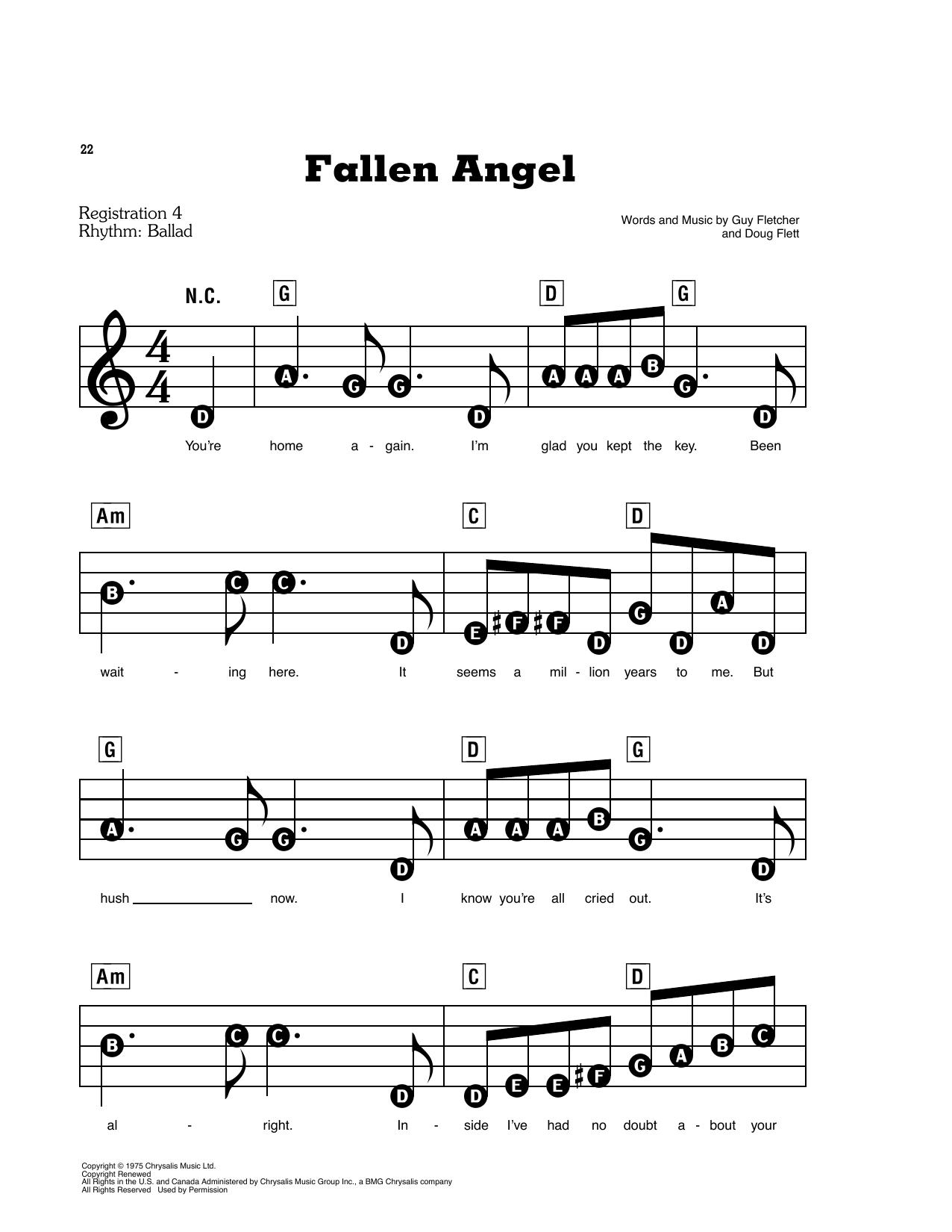 Fallen Angel (E-Z Play Today)