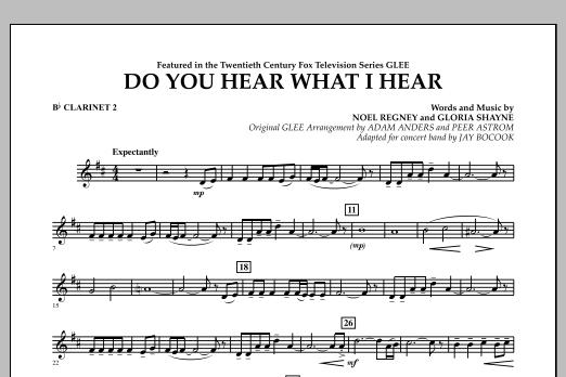 Do You Hear What I Hear? - Bb Clarinet 2 (Concert Band)