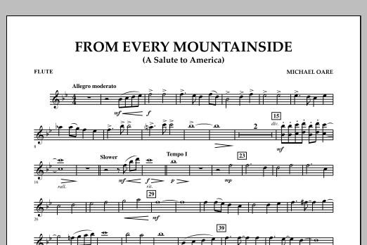 From Every Mountainside (A Salute to America) - Flute (Concert Band)