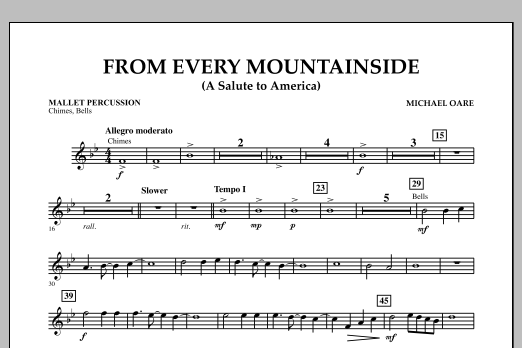 From Every Mountainside (A Salute to America) - Mallet Percussion (Concert Band)