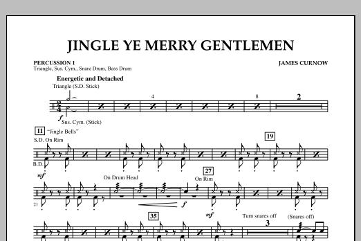 Jingle Ye Merry Gentlemen - Percussion 1 (Concert Band)