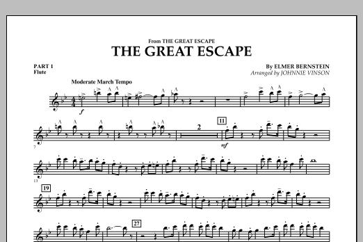 The Great Escape (March) - Pt.1 - Flute (Concert Band: Flex-Band)