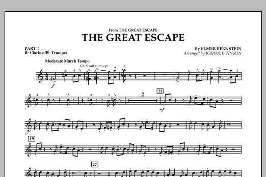 The Great Escape (March) - Pt.1 - Bb Clarinet/Bb Trumpet (Concert Band: Flex-Band)