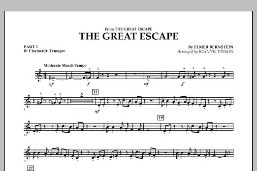 The Great Escape (March) - Pt.2 - Bb Clarinet/Bb Trumpet (Concert Band: Flex-Band)