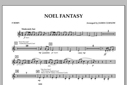 Noel Fantasy - F Horn (Concert Band)