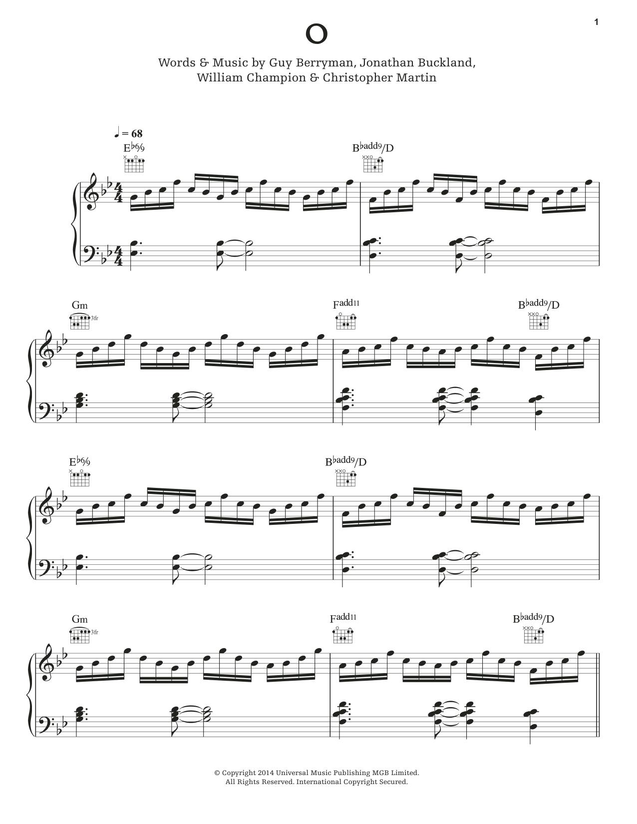 O Sheet Music