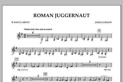 Roman Juggernaut - Bb Bass Clarinet (Concert Band)