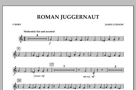Roman Juggernaut - F Horn (Concert Band)