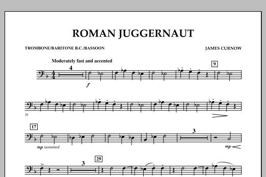 Roman Juggernaut - Trombone/Baritone B.C./Bassoon (Concert Band)