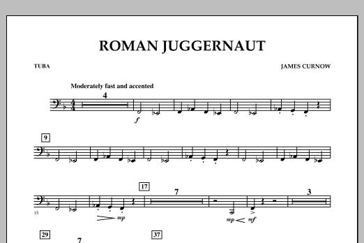 Roman Juggernaut - Tuba (Concert Band)
