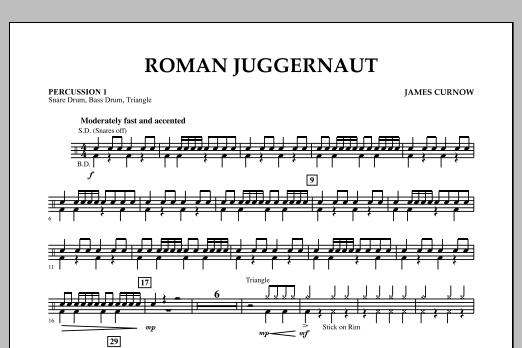Roman Juggernaut - Percussion 1 (Concert Band)