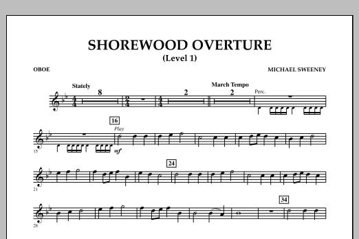 Shorewood Overture (for Multi-level Combined Bands) - Oboe (Level 1) (Concert Band)