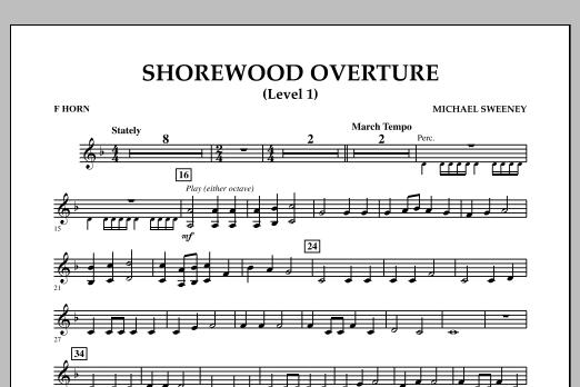 Shorewood Overture (for Multi-level Combined Bands) - F Horn (Level 1) (Concert Band)
